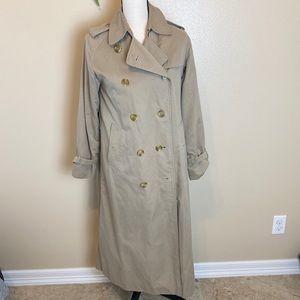Vintage Burberry trench coat women's